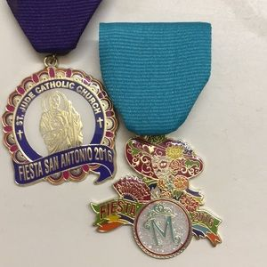Jewelry - Two (2)  San Antonio Fiesta medals